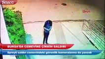 Bursa'da Cemevine çirkin saldırı