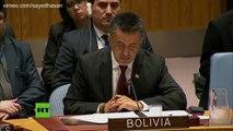 La Bolivie à l'ONU : Les frappes contre la Syrie sont une attaque contre la communauté internationale