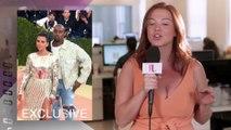 Kim Kardashian Reacts To Kanye West Receiving Gang Threats | Hollywoodlife