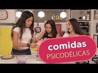 APRENDA A FAZER COMIDAS PSICODÉLICAS E COLORIDAS