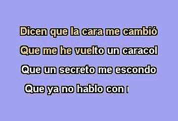 Pandora - Solo El Y Yo  (Karaoke)