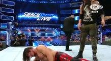 AJ STYLES VS BARON CORBIN EN ESPAÑOL WWE SMACKDOWN LIVE EN ESPAÑOL 25/4/17 EN ESPAÑOL