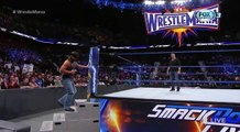 SHANE MCMAHON ATACA A AJ STYLES!!! EN ESPAÑOL WWE SMACKDOWN LIVE 21/3/17 EN ESPAÑOL