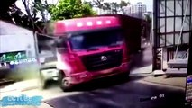 Amazing Trucks Driving Skills - Awesome Semi Trucks Drivers - Extreme Lorry Drivers WIN and Fails #9