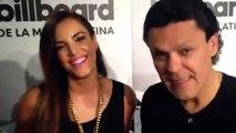 Entrevista con los presentadores de los premios Billboard de la música latina