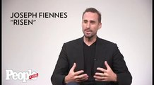 Joseph Fiennes remembers meeting with Pope Francis