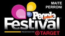 MAITE PERRONI, entrevista, conciertos Festival People 2013