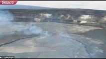 Yanardağ patladı, lavlar şehre ilerliyor