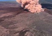 Pu'u 'O'o Volcanic Vent Churns Smoke Following Kilauea Eruption