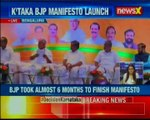 BJP releases its manifesto just 8 days before the high stakes Karnataka elections take place