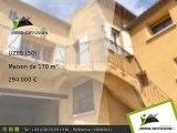 Maison A vendre Uzes 170m2 - 12 KM AU NORD D'UZES