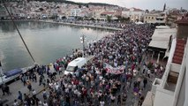 Lesbos : la colère des habitants de l'île