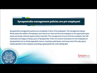 SynapseIndia management: CSR must be fulfilled by all organizations!