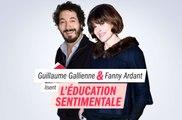 """""""L'Éducation sentimentale"""" de Flaubert, lecture par Fanny Ardant & Guillaume Gallienne"""