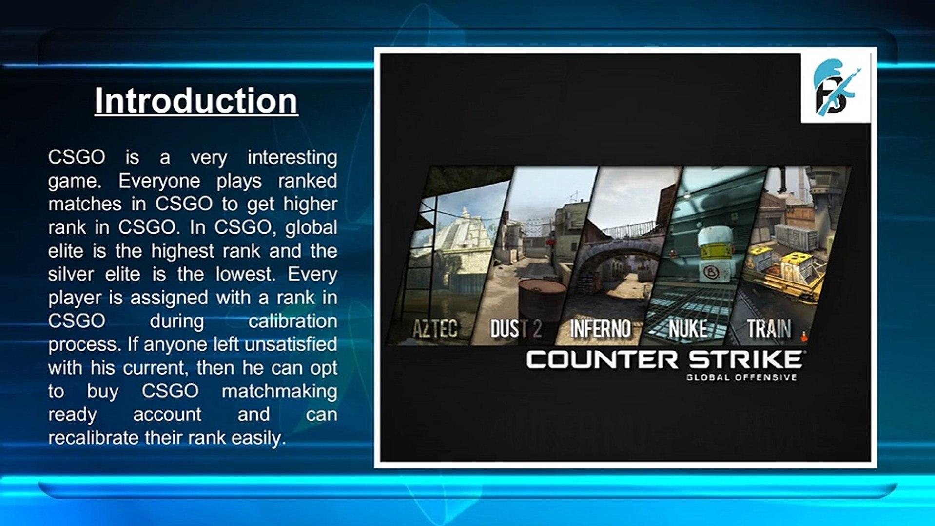 CS gå matchmaking ranking