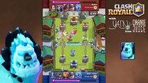Clash Royale | Ice Golem Gameplay & Inferno Dragon Deck!