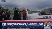 Le petit câlin entre François Hollande et Julie Gayet - ZAPPING ACTU DU 04/05/2018