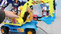 Pororo Excavators Tayo The Little Bus English Learn Numbers Colors Toy Surprise Eggs Toys