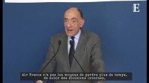 """Désavoué, le PDG d'Air France démissionne et exprime son """"immense regret"""""""