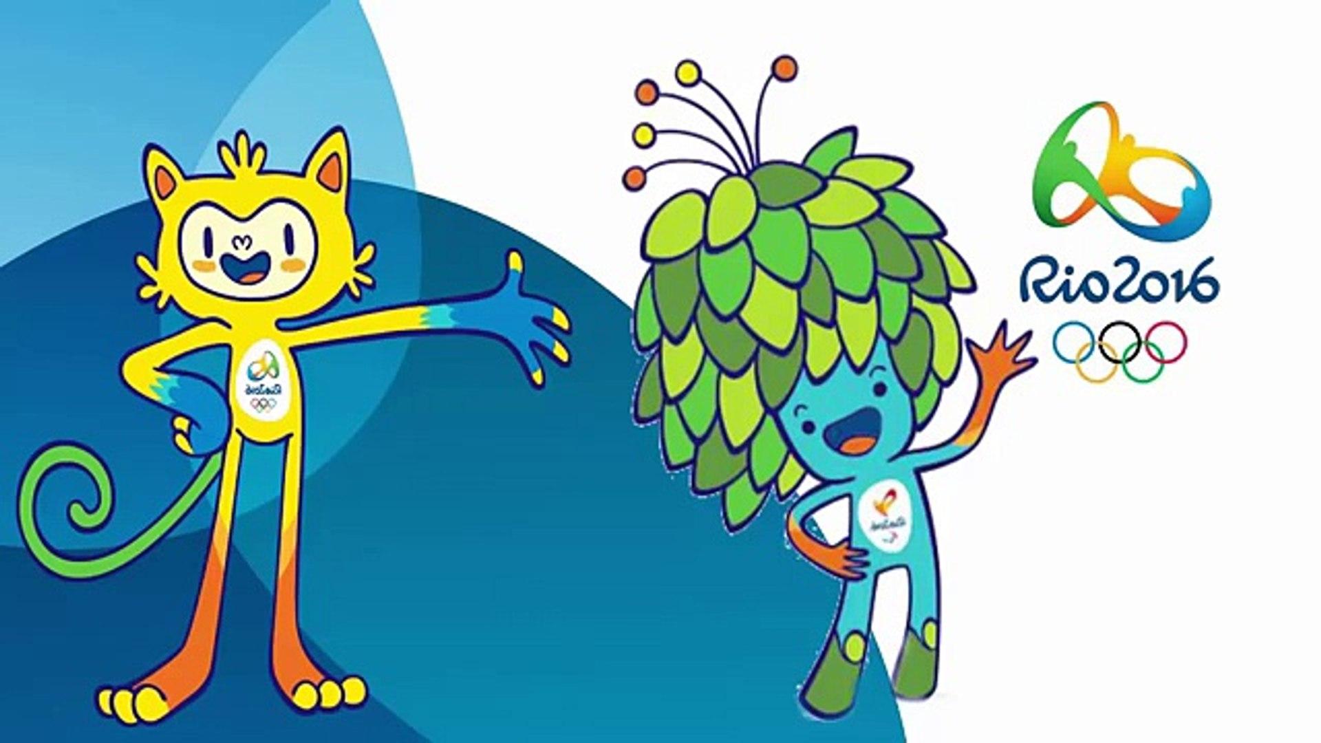 Rio 2016 Desenho Mascotes Brasil olimpíadas 2016 Design Mascot Olympics Rio 2016
