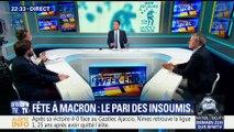 Fête à Macron: le pari des insoumis