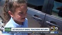 Teachers return to class after Arizona walkout