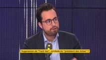 """Taxe d'habitation : """"C'était la plus grande sanction fiscale pour les familles de classe moyenne et les familles modestes"""", Mounir Mahjoubi, secrétaire d'État chargé du Numérique"""