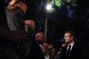 Discours du Président de la République, Emmanuel Macron lors de la cérémonie coutumière au centre Tjibaou à Nouméa