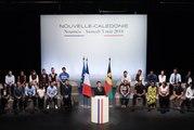 Discours du Président de la République, Emmanuel Macron, sur la Nouvelle-Calédonie à Nouméa