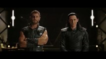 Thor and Loki meet Thanos _ Infinity War