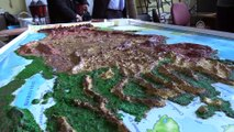 Öğrenciler, görme engelliler için harita tasarladı - ZONGULDAK