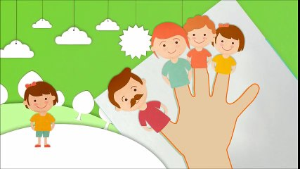 Painting Hands and Singing Finger Family Songs for Children