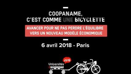 Coopaname - Universités de printemps 2018