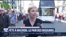 """""""Fête à Macron"""": """"Ces citoyens sont venus lui dire d'arrêter sa politique"""", déclare Clémentine Autain"""