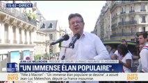 """""""Fête à Macron"""": Mélenchon """"salue"""" la victoire des salariés d'Air France lors du référendum"""