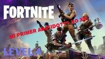 """Fortnite Battle Royal gameplay - Buscando aprender y mi primera victima """"y no serlo siempre yo XD"""""""