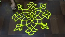 Rangoli , flower design rangoli, simple design rangoli, easy design rangoli, Rangoli videos / How to make rangoli - Video Dailymotion