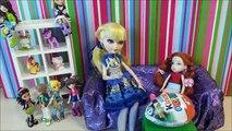Мультик с куклами Барби и Эвер Афтер Хай Волшебный клубочек Мультики для девочек Куклы Шоу 36