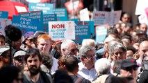 Paris: Zehntausende demonstrieren gegen Macrons Reformpolitik