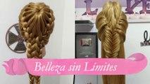 Peinados Recogidos Con Trenzas Para Niñas By Belleza Sin