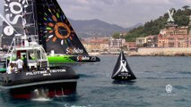 Victoire de Thomas Coville et Sodebo Ultim' sur Nice UltiMed