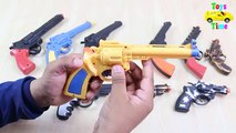TOY GUNS Collection My Massive Toy Revolver Guns from Arsenal + Modified Guns For Kids and Children
