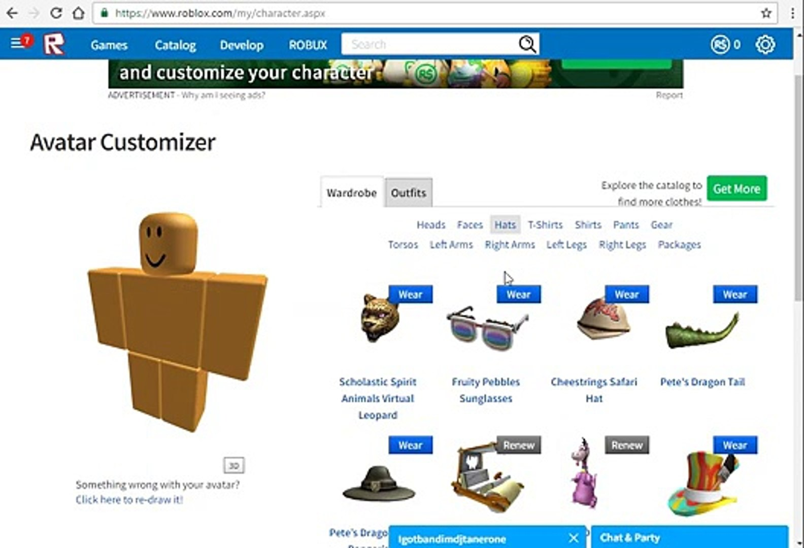 How To Make Ur Avatar Look Cool For Free Roblox Video Dailymotion