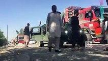 ۸ کودک در نزدیکی میدان هوای قندهار بر اثر حمله طالبان شهید شدندکابل بیش از ۳۰ شهید و زخمی بیشتر شهید شده ها جورنالیست هاو این هم ویدیو از حمله های انتحاری در