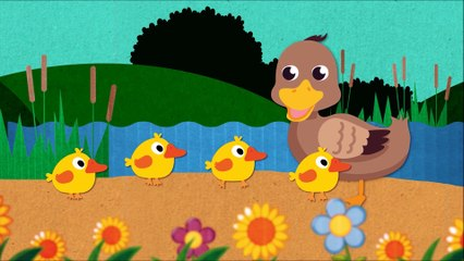 Five Little Ducks Went Out One Day - Nursery Rhymes by Doo Doo Kids Songs
