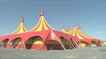 Sortie de piste pour le cirque Pinder - 07/05/2018