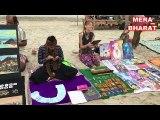 Foreigners Set Market On The Goa Beach  , India