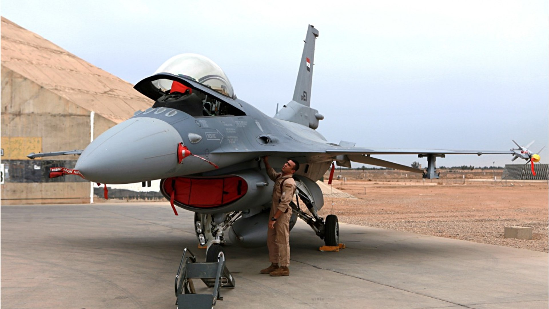 Iraqi Air Strike Targets Islamic State Position In Syria