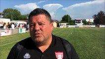 Rugby - Phases finales de Fédérale 3 : la réaction de Brice Sarandao après la qualification du Grand Dole