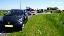 Motorrijder gewond na botsing met auto in Genemuiden